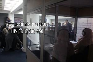 Booth Kedap Suara 2 Interpreter