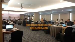 Sewa alat interpreter system di Kuta Bali