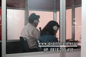 Jasa Interpreter & Rental alat interpreter wireless terbaik di ITB Bandung